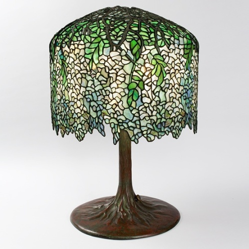 tiffany wisteria lamp