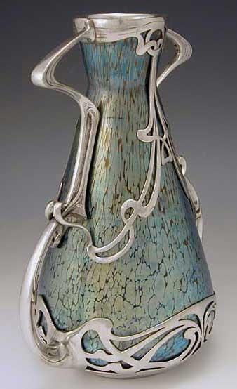 2. art nouveau vase