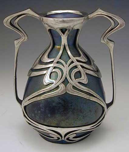 4. Zsolnay Art Nouveau vase 1900