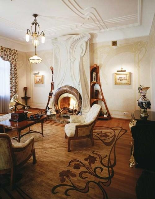 8. Art Nouveau Style House Villa Liberty near Moscow, Russia 1