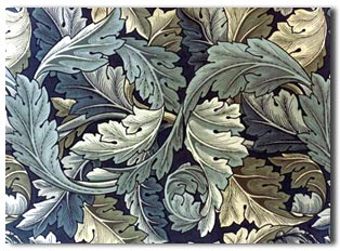 Acanthus Leaf Wallpaper
