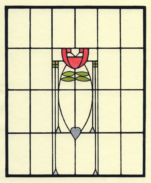 Dard Hunter Stained Glass Design
