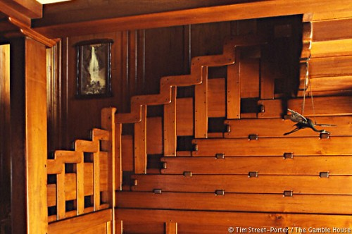 Gamble House Stair Detail