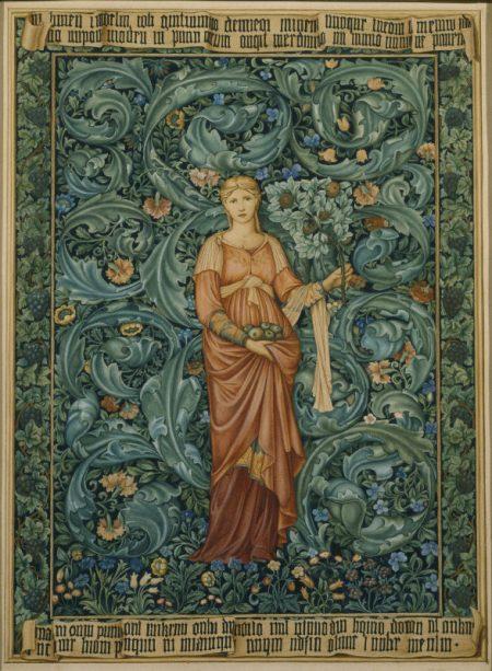 Edward Burnes Pamona Tapestry