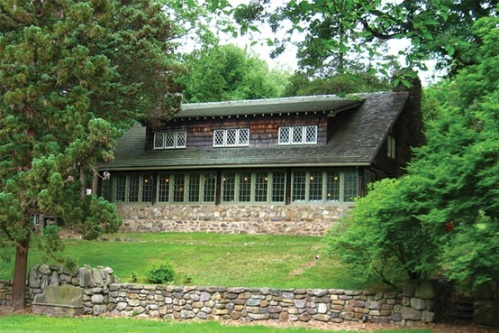 Stickley's Log Home