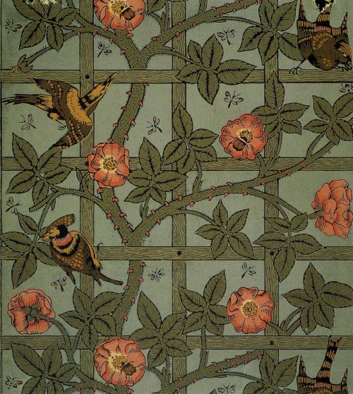 William Morris Trellis Wallpaper