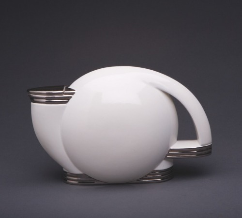 Art Deco Paul Schreckengost Tea Pot, 1938.