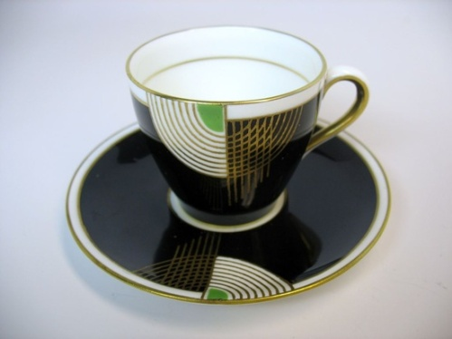Royal Doulton Art Deco TANGO tea set