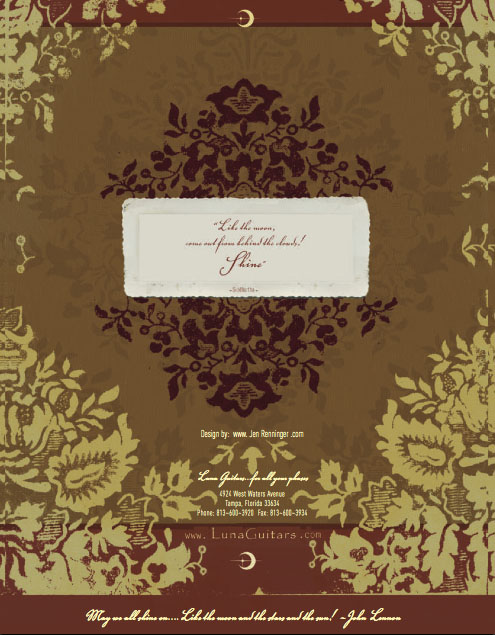 2006 back cover