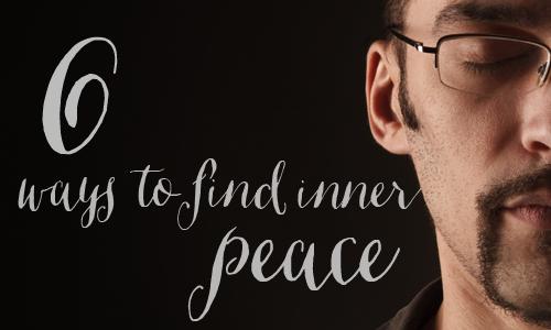 6 ways to peace