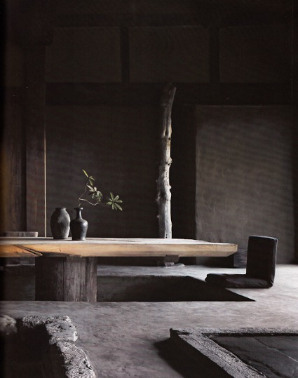 Wabi sabi finding the beauty in imperfection luna for Zen minimalist house design