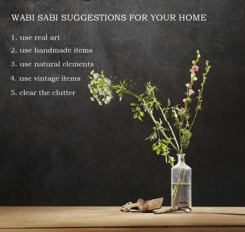 Wabi Sabi Suggestions